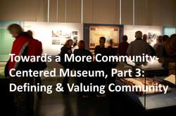 Defining & Valuing Community