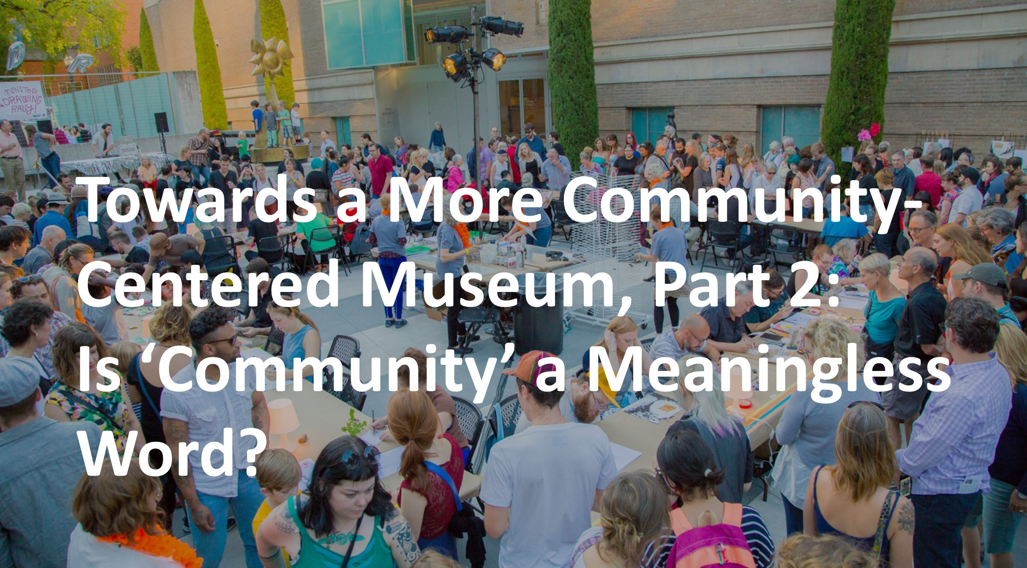 Is 'Community' a Meaningless Word?