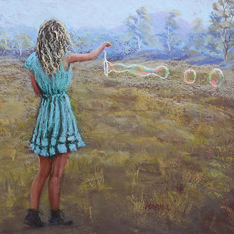 Soft Pastel Painting Art