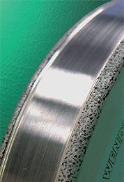 Алмазный ролик WENDT с хаотично расположенными алмазами
