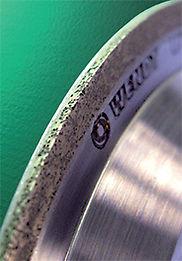 Алмазный ролик WENDT для правки эльборовых кругов
