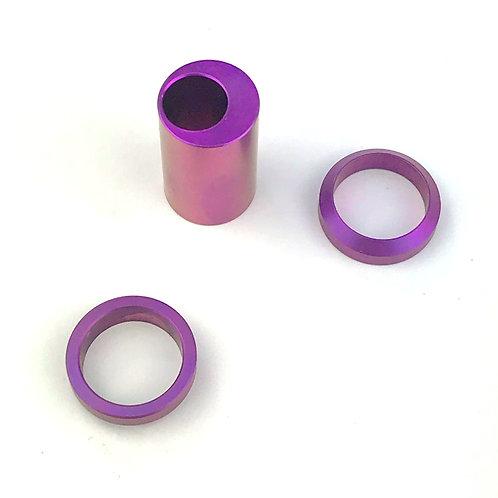 Titanium Shock Bushing Kit - Offset