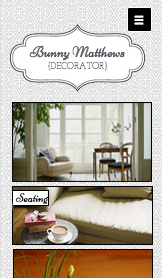 Designer website templates – Interior Decorating