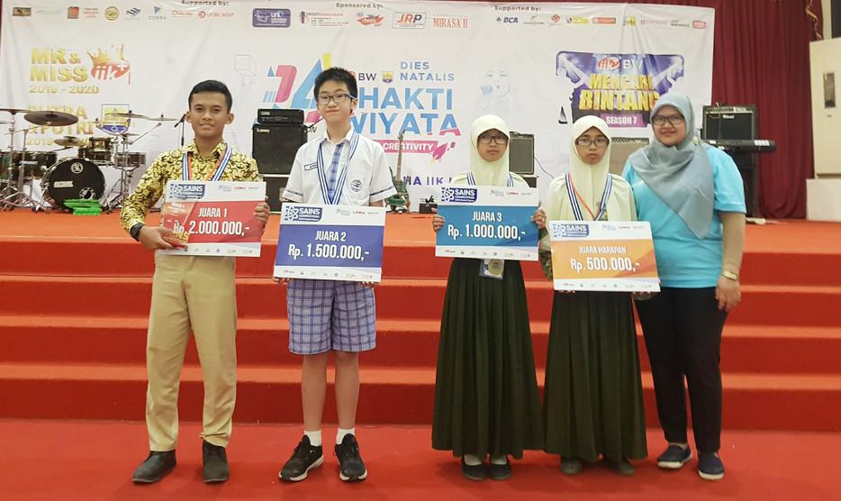 Juara Sains Competition SMP 2019
