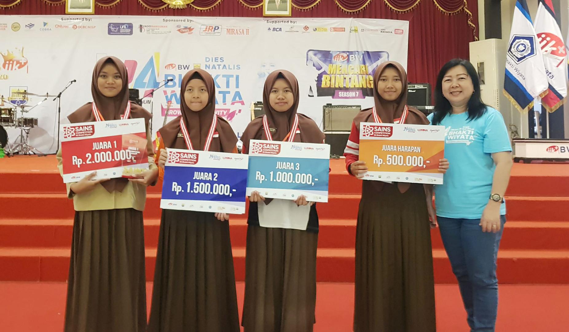 Juara Sains Competition 2019