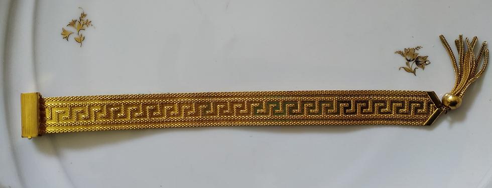 צמיד דוגמה יוונית
