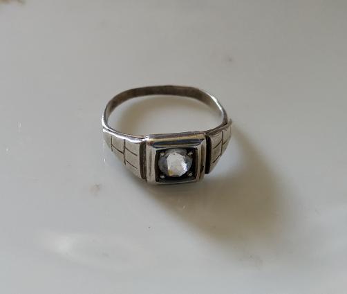 טבעת כסף דקו