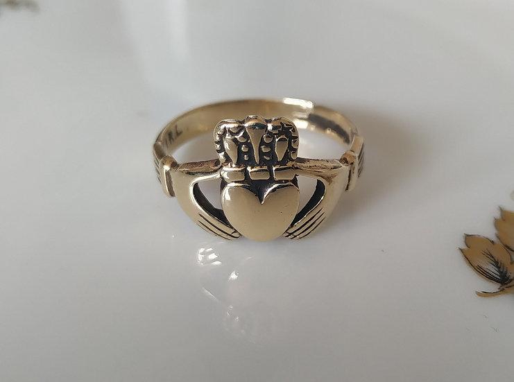 טבעת זהב קלאדה