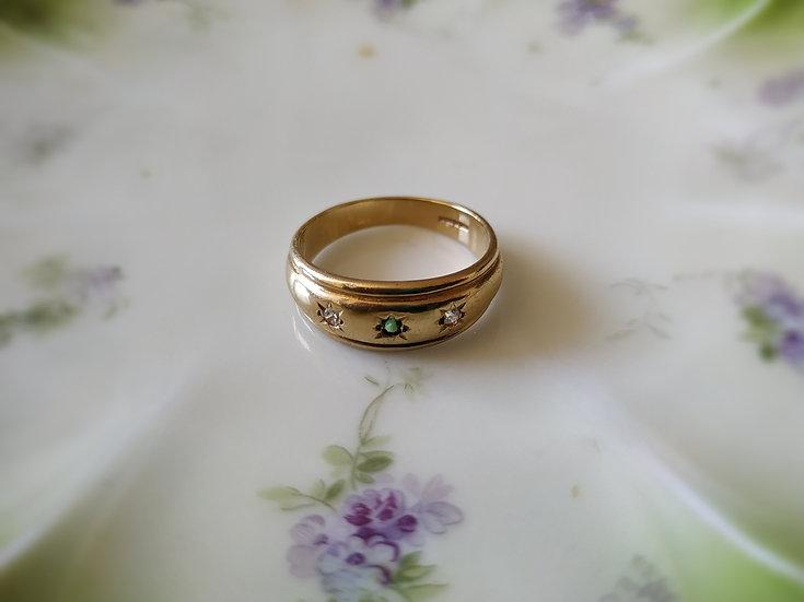 טבעת זהב ג'פסי
