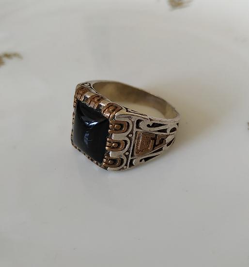 טבעת כסף נחושת ואוניקס