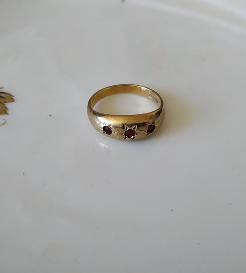 טבעת זהב ג'יפסי