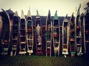 Jukung Art Installation - La Brisa Bali