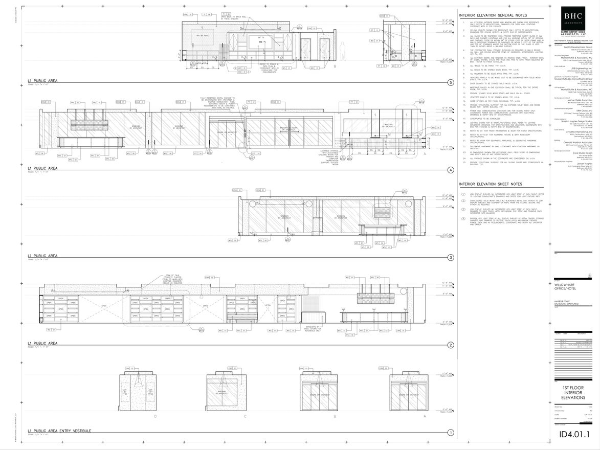 Canopy 1st Floor Elevations