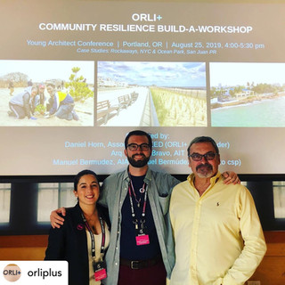Ocean Park, PR / Red Hook, NY - Young Architect Conference 2019