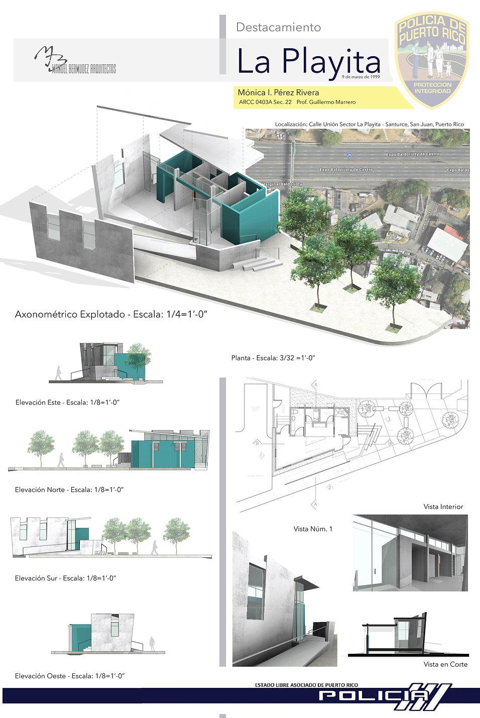 La Playita Police Station