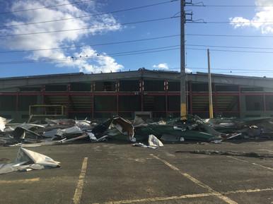 Major Damage to Recreational Buildings