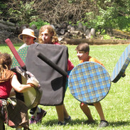 LARPing the day away!