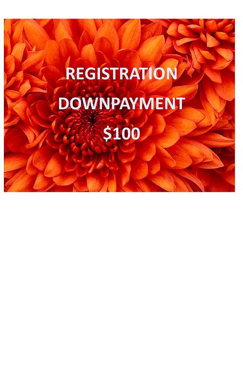 Registration Downpayment