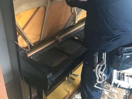 ライトアップピアノ解体方法を教えます!