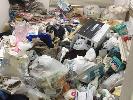 三条市内でのゴミ屋敷片付け+ハウスクリーニング作業