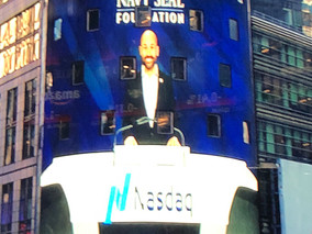 VIRSIG CEO JOINS NAVY SEAL FOUNDATION IN RINGING THE NASDAQ CLOSING BELL