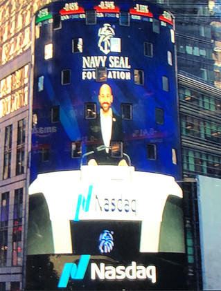 Our CEO in Times Square