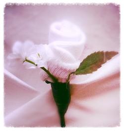 Florcitas para decoración de eventos
