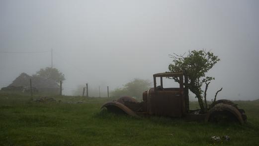 brouillard sur le Sauveterre