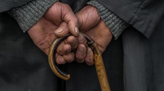Mains d'un maquignon