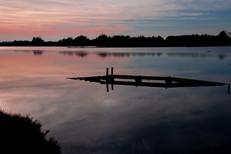 Coucher soleil Marais Ile d'Olonne (19
