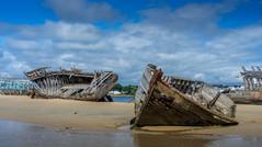 Cimetière à bateaux