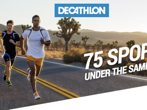 We get Decathlon now