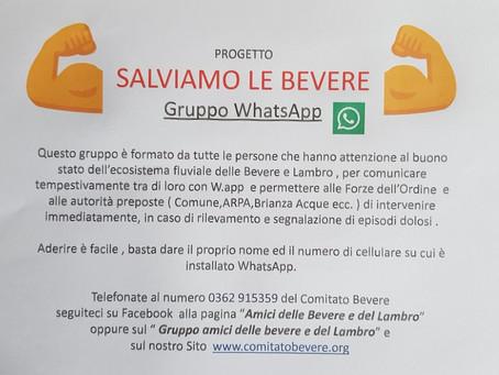 SALVIAMO LE BEVERE