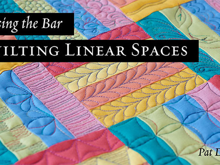 Learn bar quilting from Pat on Bluprint