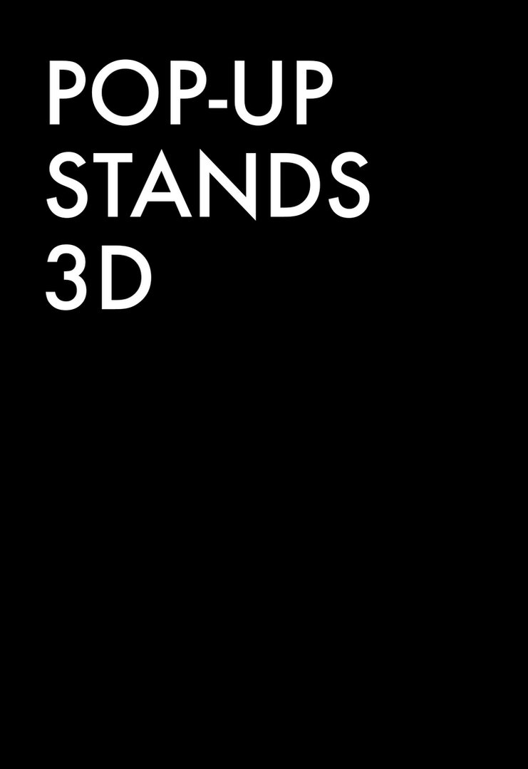 Pop-Up Stands 3D
