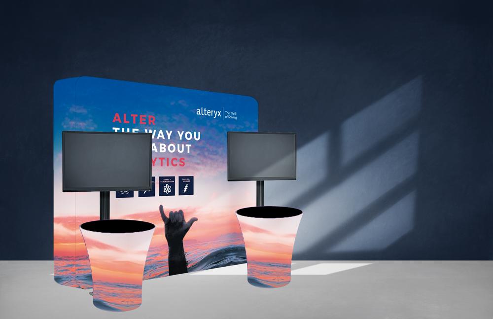 Pop-Up Booth Zip 3D