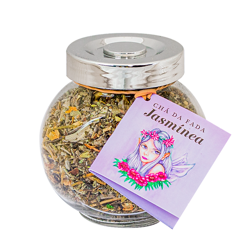 Chá da Fada Jasmínea 34g Prateado