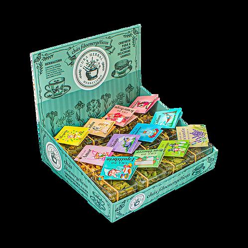 Pack com 12 Chás Pockets + Display de brinde
