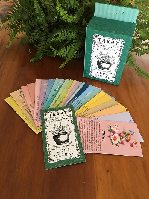 Tarot Herbalista c/ 24 cartas
