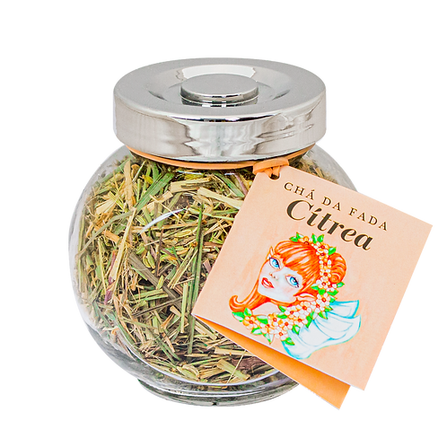 Chá da Fada Cítrea 37g Prateado