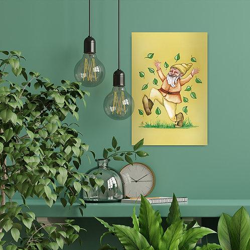 Quadro Alegria 20 x 30 cm