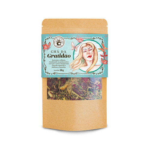 Chá da Gratidão 60g - Pacotinho V