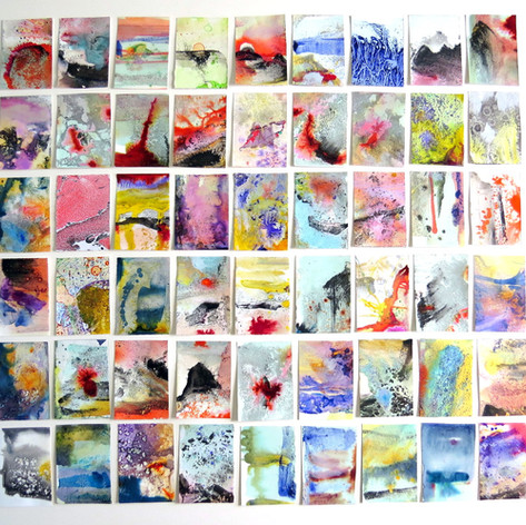 54 series In Flux, ink on paper, 90x100c