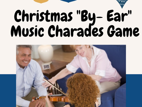 "Christmas ""By- Ear"" Charades Game"