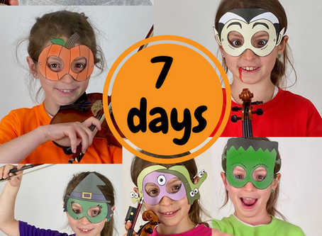 Halloween Countdown! | 7 days of Masks