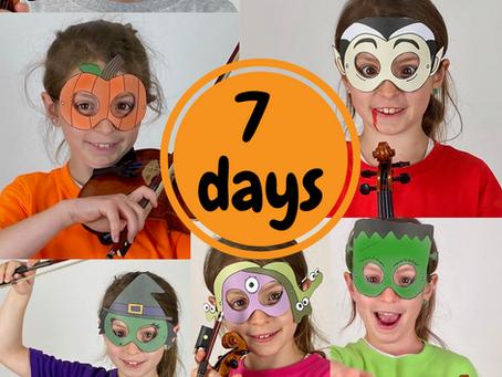 Halloween Countdown! | 7 days of Masks
