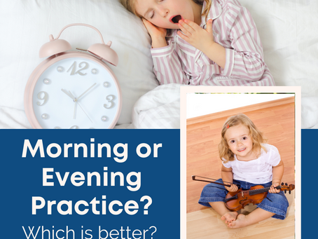 Morning or Evening Practice? Which is Better?