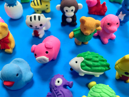 Music Practice more FUN with Animal Erasers