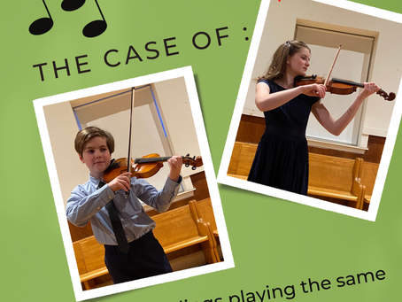 #49  FIVE  reasons for siblings to play the same instrument or program