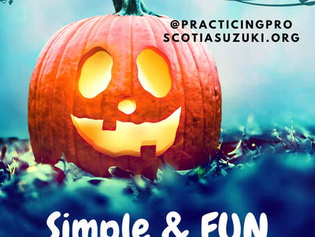 Pumpkin Faces | Halloween Activity for Review Pieces